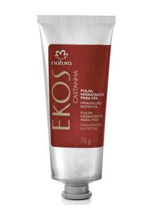 Polpa Desodorante Hidratante para os Pés Castanha Ekos - 75g